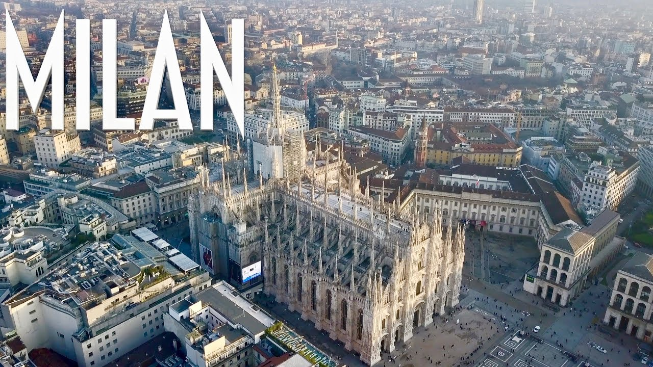Milan City By Drone Milano The Changing City 4k Uhd Drone Footage Youtube