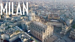 Milan City By Drone