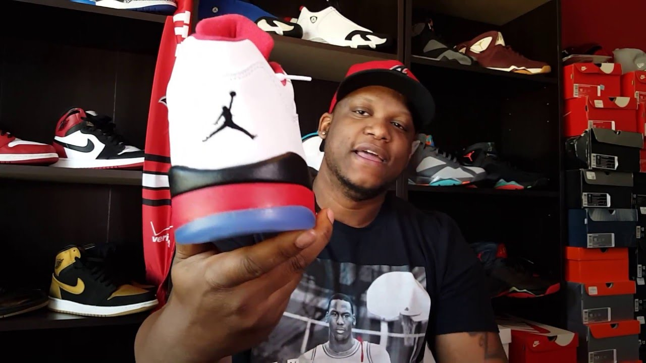 8f3df318d6d265 AIR JORDAN 5 LOW  FIRE RED  REVIEW AND ON FEET!!! - YouTube
