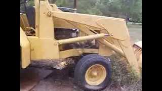john deere 410 tractor it runs