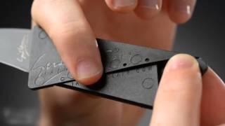 CardSharp II. Skladací nôž veľkosti kreditky [by Vat19]