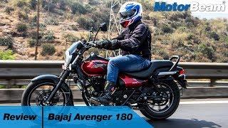 Bajaj Avenger 180 Review - City Cruiser | MotorBeam