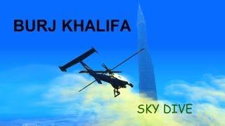 GTA SA BURJ KHALIFA SKY DIVE