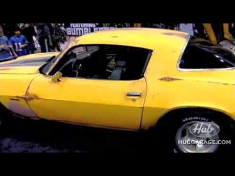 Bumblebee Camaro from Transformers Movie Detroit Autorama 2008