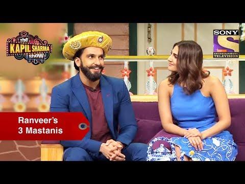 Ranveer And His Three Mastanis - The Kapil Sharma Show