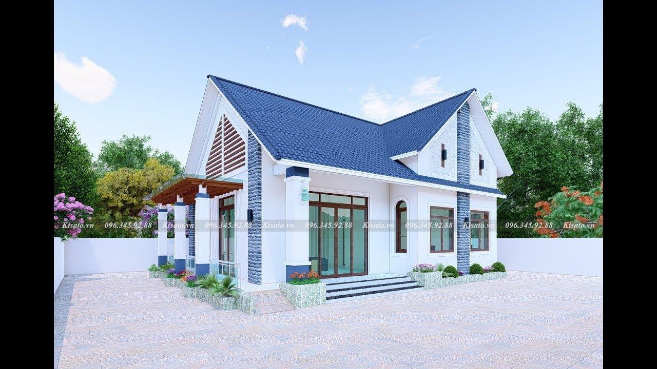 Mẫu Nhà Cấp 4 Đẹp Như Mơ 120m2 Với 3 Phòng Ngủ Tại Cam Lâm Khánh Hòa
