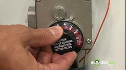 Improving Energy Effieciency - Turning off the Water Heater While on Vacation
