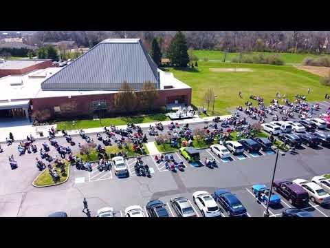 2021 Easter Outdoor Mass Flyover
