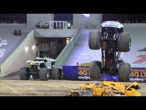 Monster Jam El Paso, Texas. Saturday, March 7th 2015