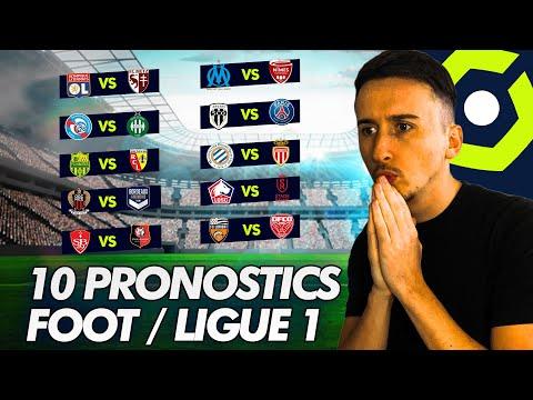 Pronostic Foot LIGUE 1 : Mes 10 PRONOSTICS (PSG, MARSEILLE, LYON etc )