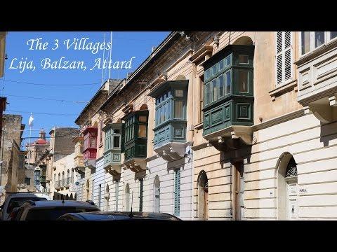Malta | The 3 Villages | Lija | Balzan | Attard