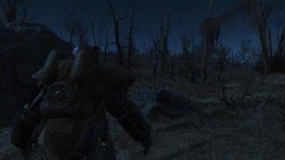 Fallout 4 power armor near robotics disposal ground