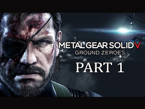 Metal Gear Solid 5 Ground Zeroes Gameplay Walkthrough - Part 1 (PS4 MGSV Commentary)