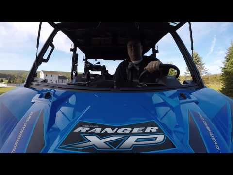 Polaris Ranger Crew - GoPro Mount Test