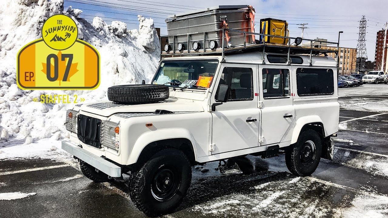 Land Rover Halifax >> Unser Defender »Willi« ist da | Kanada - Halifax | Im ...