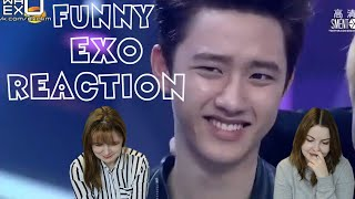 EXO Funny Moments REACTION