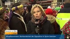 Köln: Dorthe Ferber zum Sicherheitskonzept an Karneval am 04.02.2016