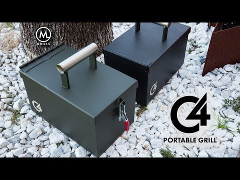 Cooking on the C4 Portable Grill