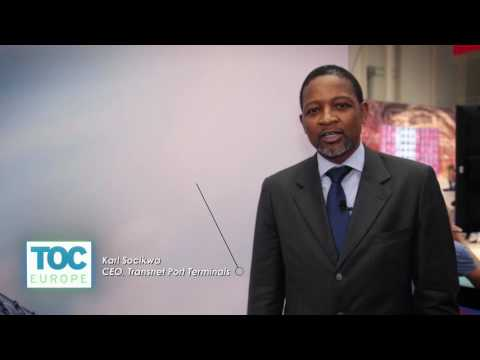 Interview with Transnet Port Terminals at TOC Europe 2016 - Part 1