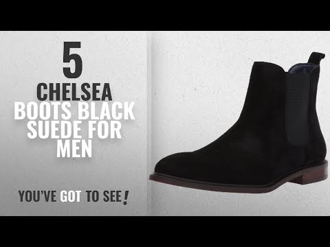 Top 10 Chelsea Boots Black Suede [ Winter 2018 ]: Steve Madden Men's Backfire Chelsea Boot, Black