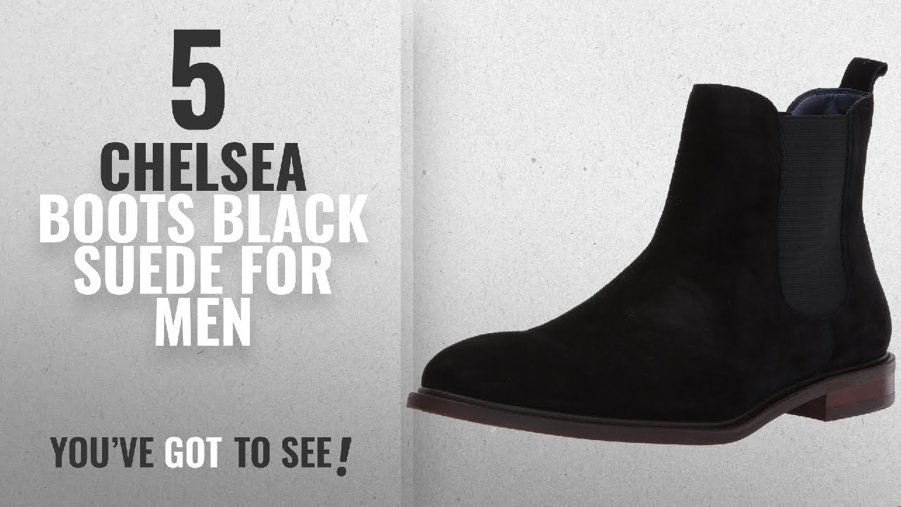 c80009431d6 Top 10 Chelsea Boots Black Suede [ Winter 2018 ]: Steve Madden Men's  Backfire Chelsea Boot, Black