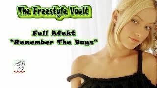 "Video Full Afekt ""Remember The Days"" Freestyle Music download MP3, 3GP, MP4, WEBM, AVI, FLV Oktober 2018"