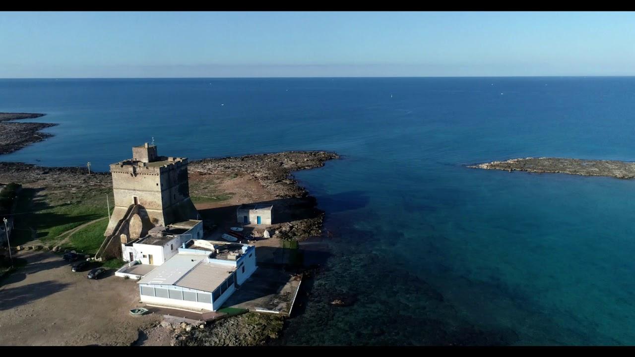 S.ISIDORO SPIAGGIA DEL SALENTO BY DRONE - YouTube