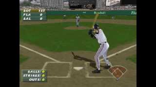 Frank Thomas Big Hurt Baseball ... (PS1) 60fps