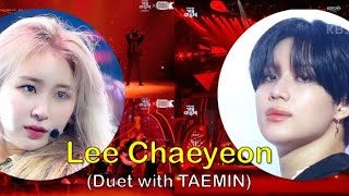 [Criminal] Lee Chaeyeon(IZ*ONE)'s cover (Duet with TAEMIN)