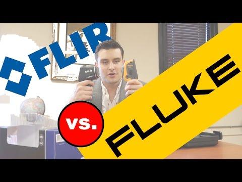 Fluke VT104 Vs Flir TG165
