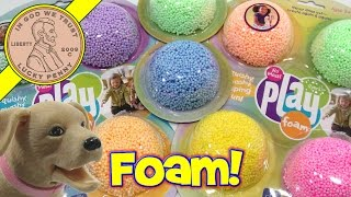 Glitzy Playfoam - Squishy, Squashy, Shaping Fun...i Make A Dog Bed!