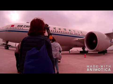 【北京空港乗継2017】エアチャイナCA160→CA933