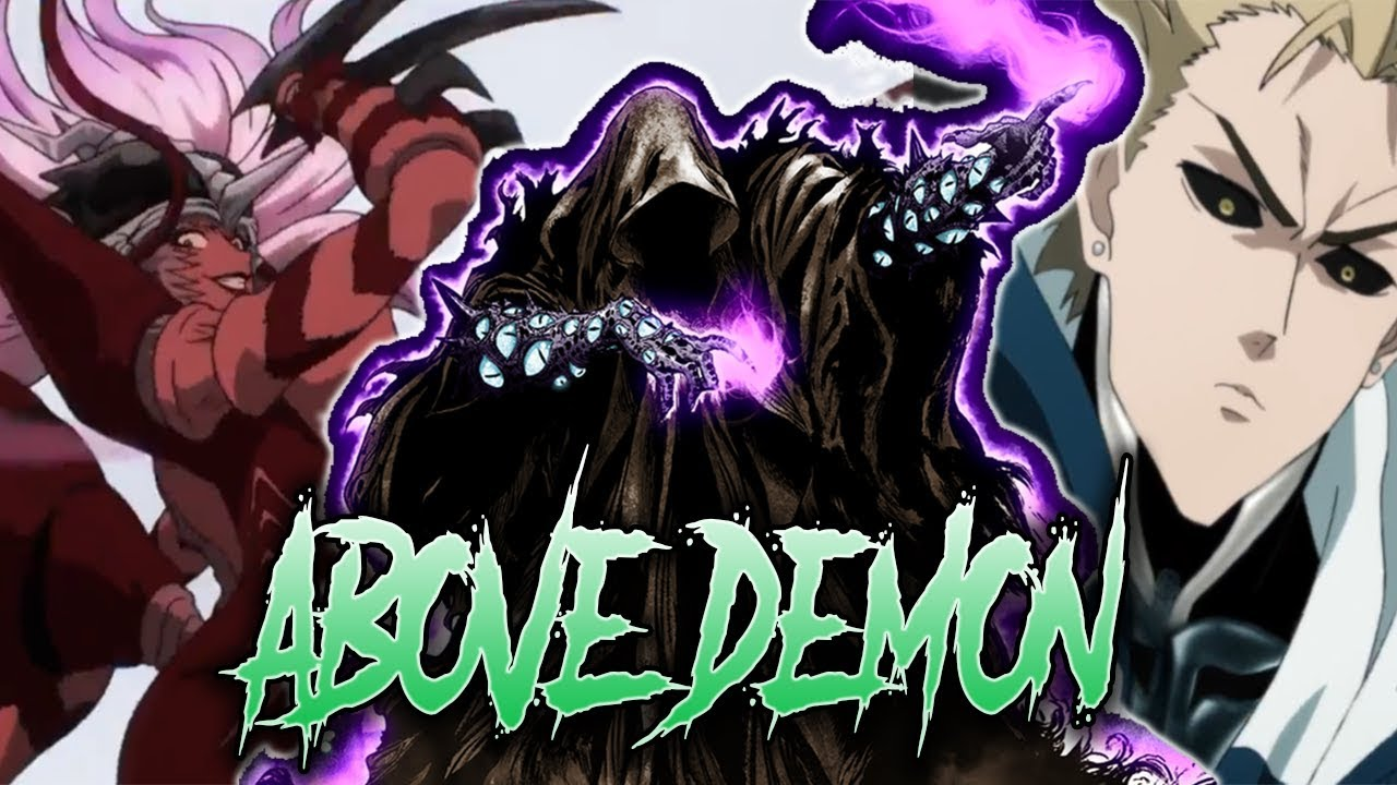 ABOVE DEMON Explained (Pseudo Dragon) / One Punch Man