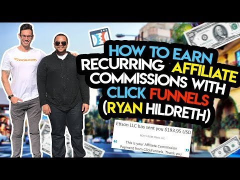 How To Build RECURRING Affiliate Commissions With Clickfunnels
