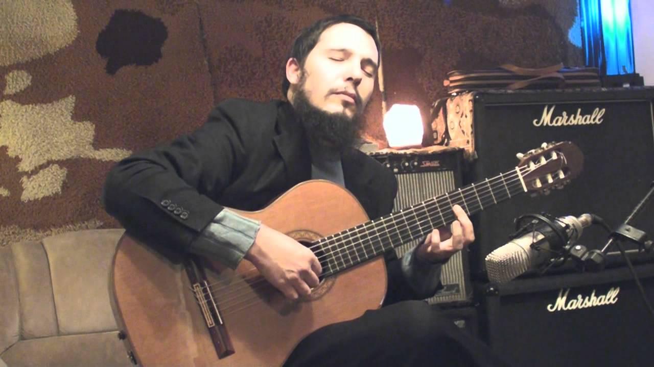 נדב בכר - ניגון יפה לשבת בגיטרה קלסית - Nadav Bachar-Nigun for Shabt
