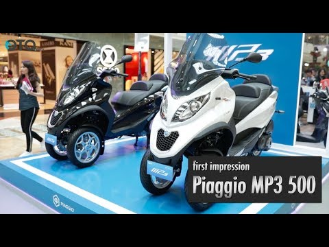 Piaggio MP3 500 | First Impression | OTO.com