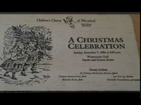 The Children's Chorus Of Maryland - A Christmas Celebration (Side A)