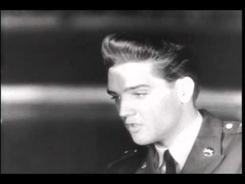 Elvis Leaves Germany 1960