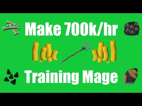 [OSRS] Make 700k/hr While Training Magic! - Oldschool Runescape Money Making Method!