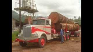 Zee bros. 1966 Kenworth logging truck.