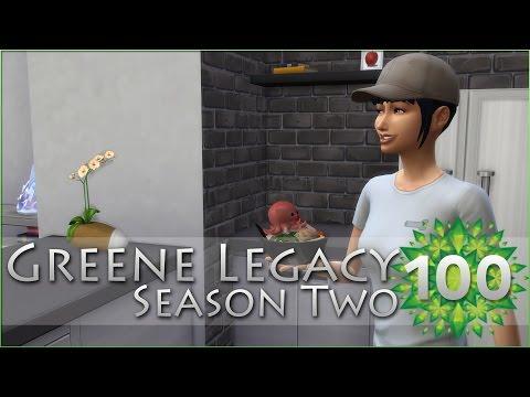 An Alien Appetite for Octopus Udon?! • Sims 4 Legacy - Episode #100 | Season 2