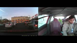 Russia Meteor Explosion - Driver Shocked [HD]