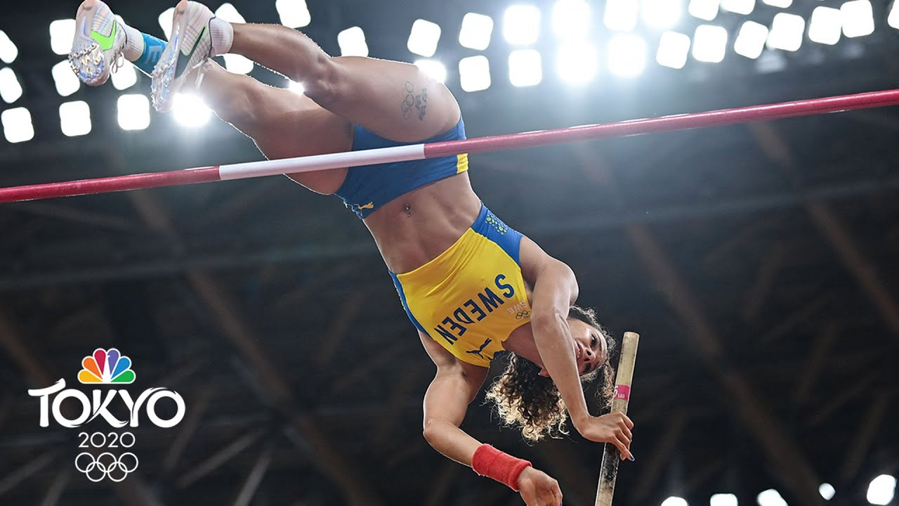 Download Sweden's Angelica Bengtsson soars into women's pole vault final | Tokyo Olympics | NBC Sports