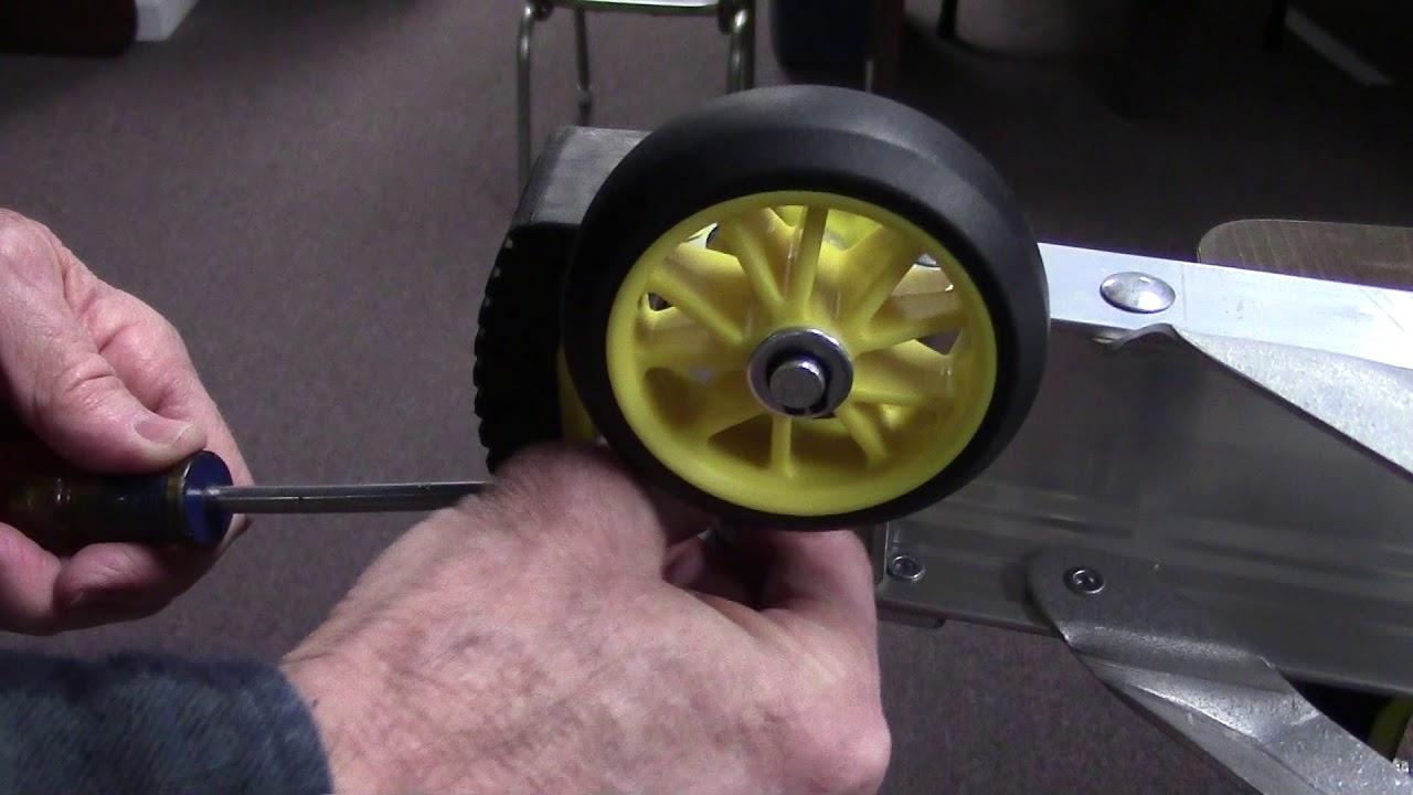 Gorilla Ladders Mpx Wheel Kit Model Glmp Whl Youtube