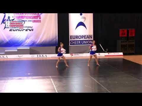 102 JUNIOR DOUBLE FREESTYLE POM Airieva   Sidelnikova ORIKS RUSSIA
