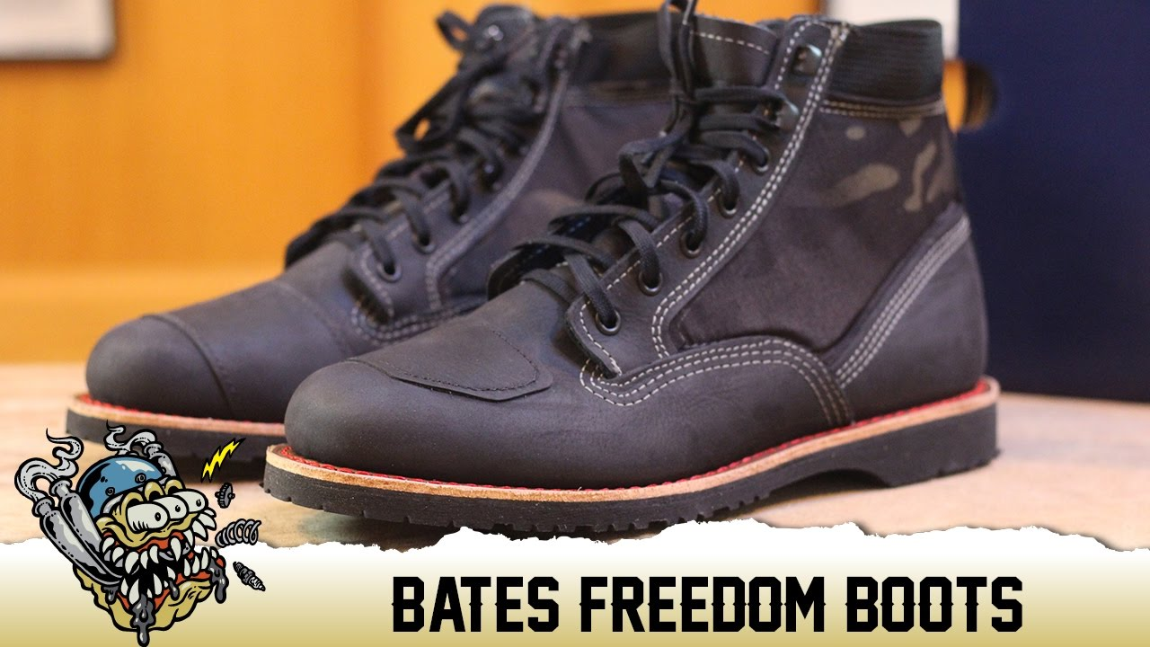 Bates Freedom Boots Overview Deadbeatcustomscom Youtube