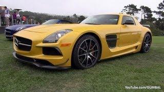 Mercedes-Benz SLS AMG Black Series + SLS AMG GT + 2x SLS AMG GT Roadster