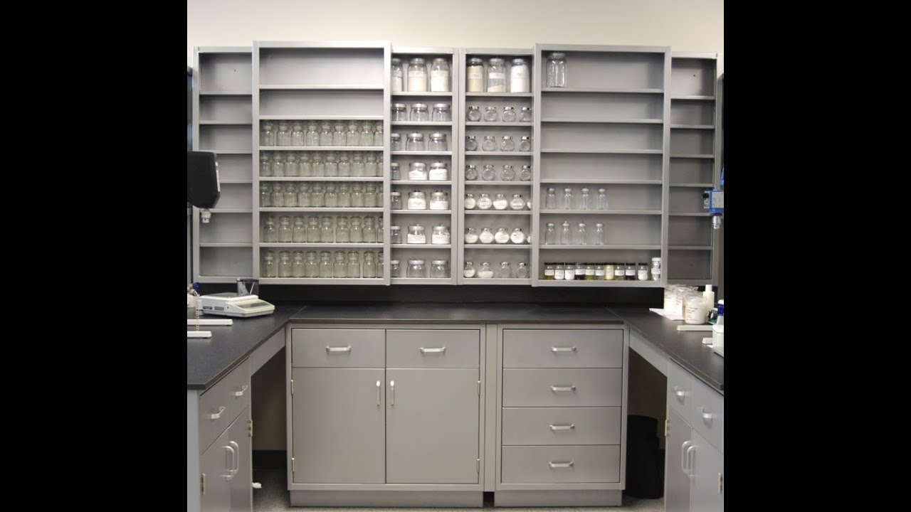 Awesome Genie Scientific Steel Lab Cabinet Casework