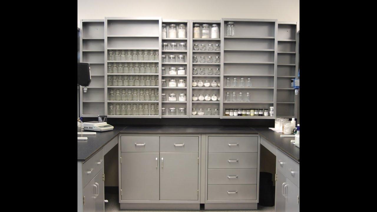 Genie Scientific Steel Lab Cabinet Casework - YouTube