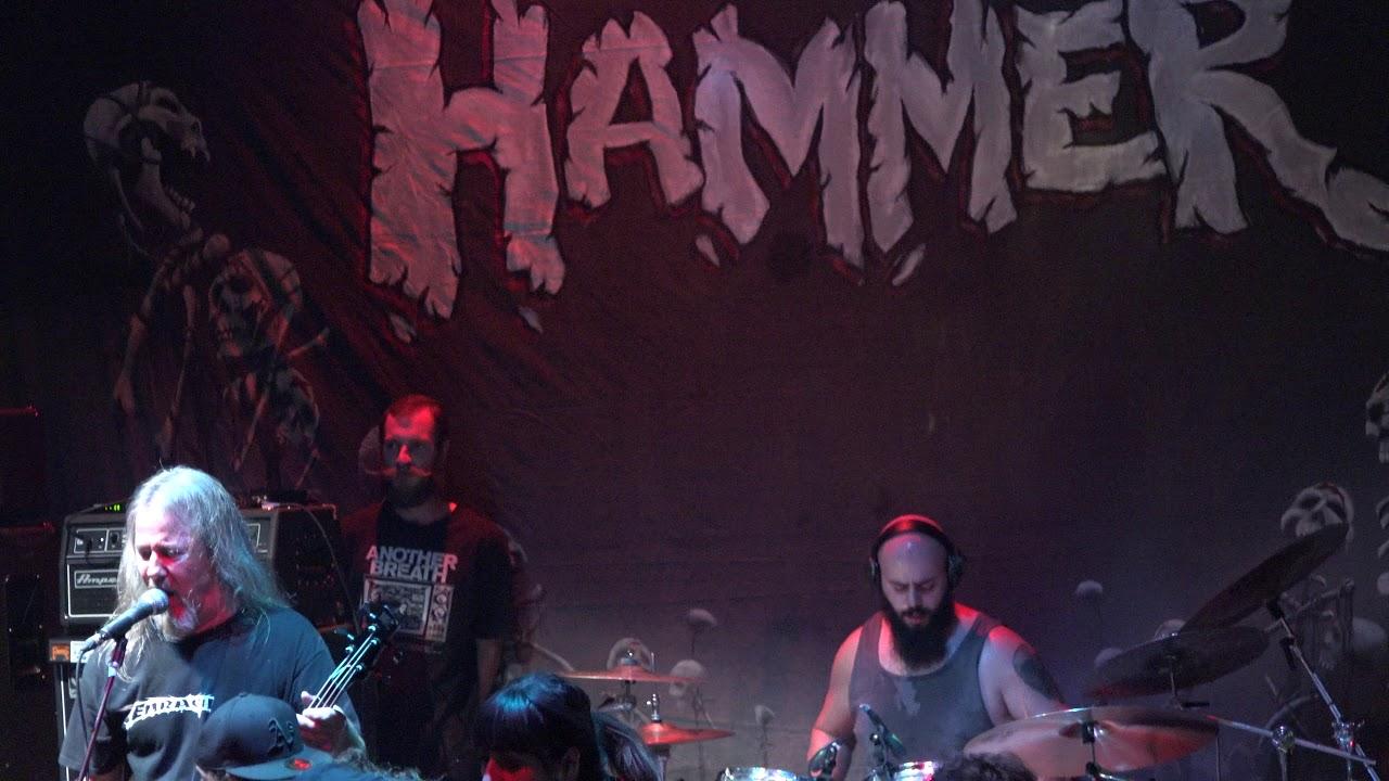 Demolition hammer band logo